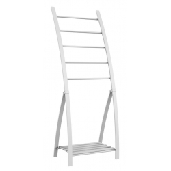 PORTE SERVIETTE 5 BARRES LOFT GAME BLANC