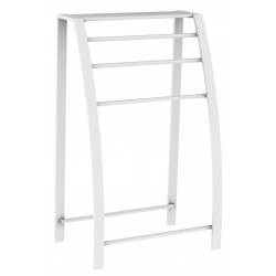 PORTE SERVIETTE 3 BARRES LOFT GAME BLANC