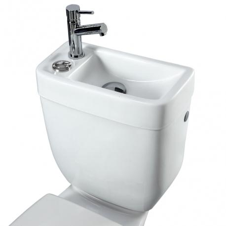 Réservoir avec lave-mains intégré