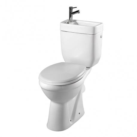 Pack wc surélevé Sortie Horizontale avec lave mains intégré