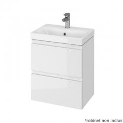 Meuble de salle de bain 50 cm faible profondeur