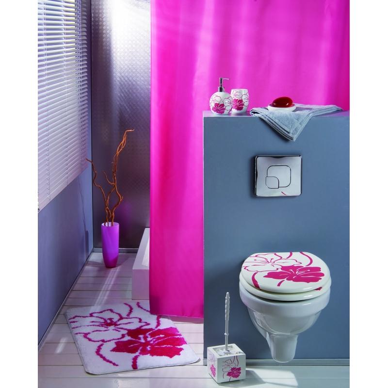 rideaux de douche intense fushia vente de rideau de douche. Black Bedroom Furniture Sets. Home Design Ideas