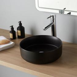 Vasque à poser Andria Diamétre 37 cm Noire