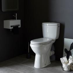 Pack WC surélevé SH blanc - sortie horizontale
