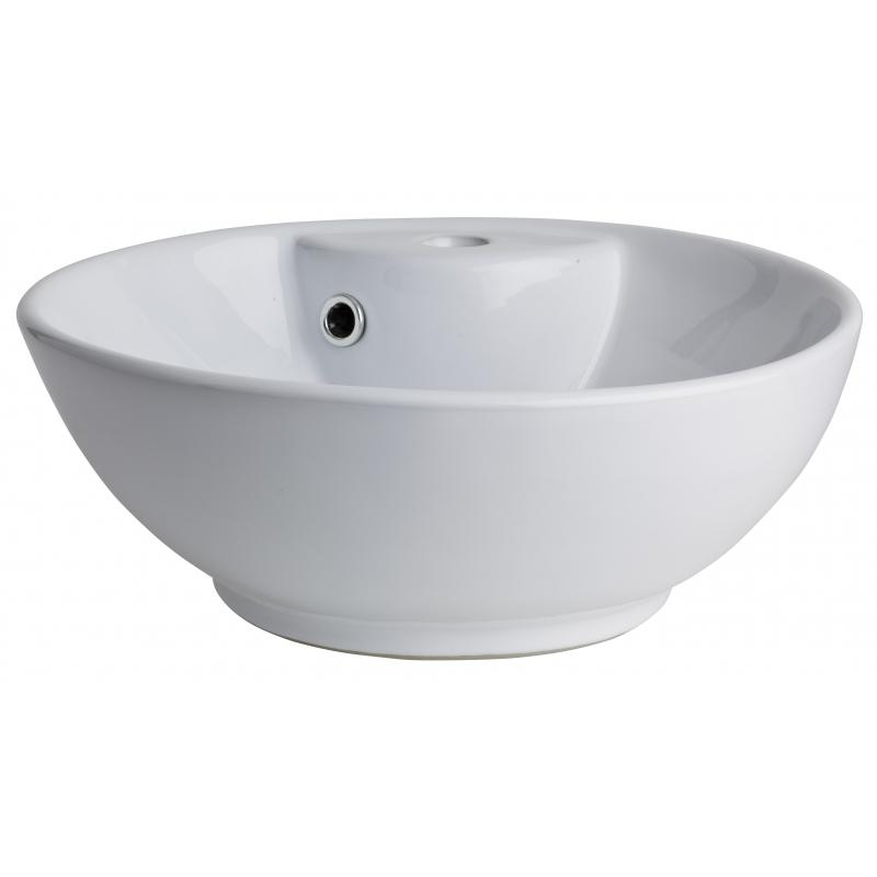 vasque ceramique ou porcelaine Vasque à poser ronde blanche ...