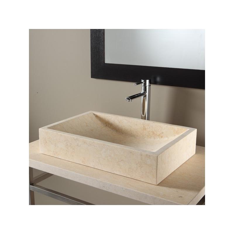 achat de vasque a poser rectangulaire vasques en pierre. Black Bedroom Furniture Sets. Home Design Ideas