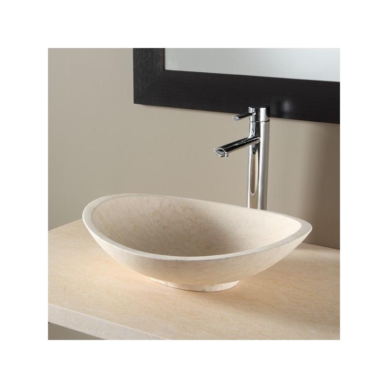 vasque salle de bain en pierre naturelle vasques forme ovale. Black Bedroom Furniture Sets. Home Design Ideas
