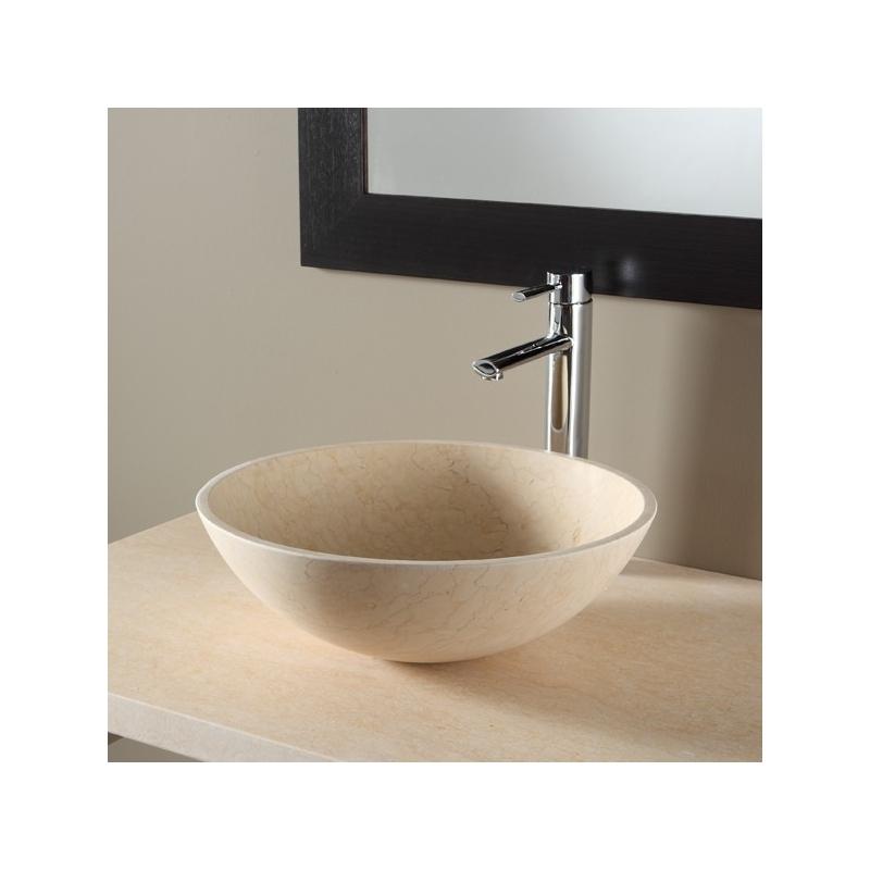 vasque pour salle de bain vasques en pierre beige. Black Bedroom Furniture Sets. Home Design Ideas