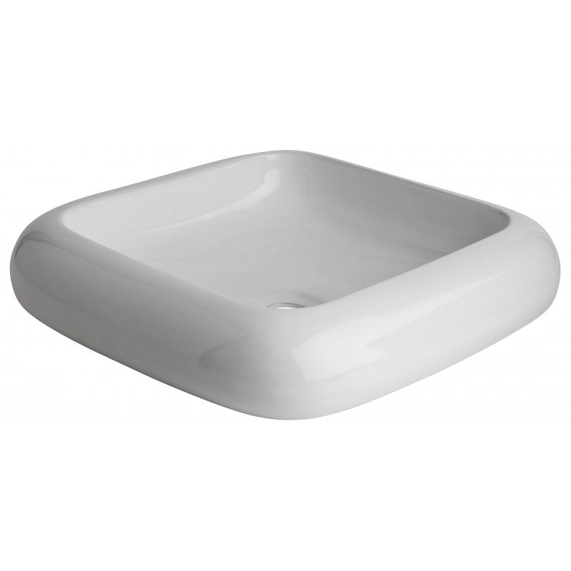 vasque a poser blanche vasques en porcelaine planete bain. Black Bedroom Furniture Sets. Home Design Ideas