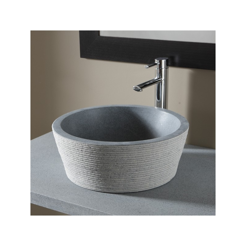 vasque a poser ronde vasques avec bords haut de couleur. Black Bedroom Furniture Sets. Home Design Ideas
