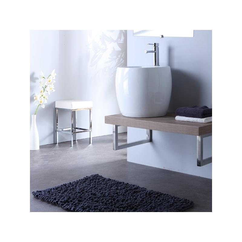 Plan de toilette et vasque vasques en c ramique sur - Hauteur d un lavabo de salle de bain ...