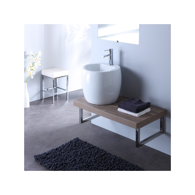 lavabo moderne blanc id e inspirante pour. Black Bedroom Furniture Sets. Home Design Ideas