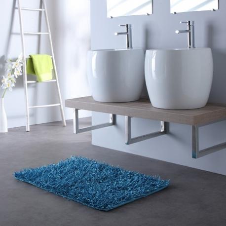 Meuble salle de bain - Mini totem ceramique blanche – Planete Bain
