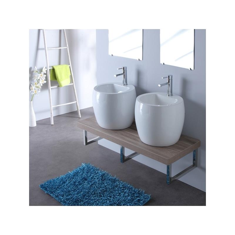 Mini meuble salle de bain maison design for Mini lavabo salle de bain
