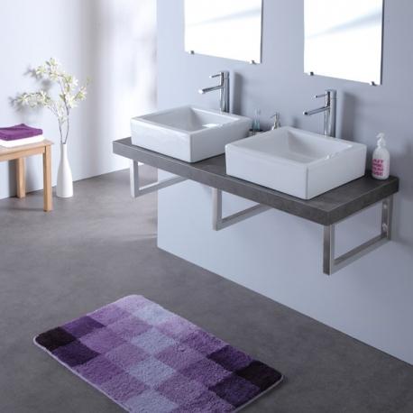 Meuble de salle de bain suspendu vente meubles salle de bain for Meuble double vasque 100 cm
